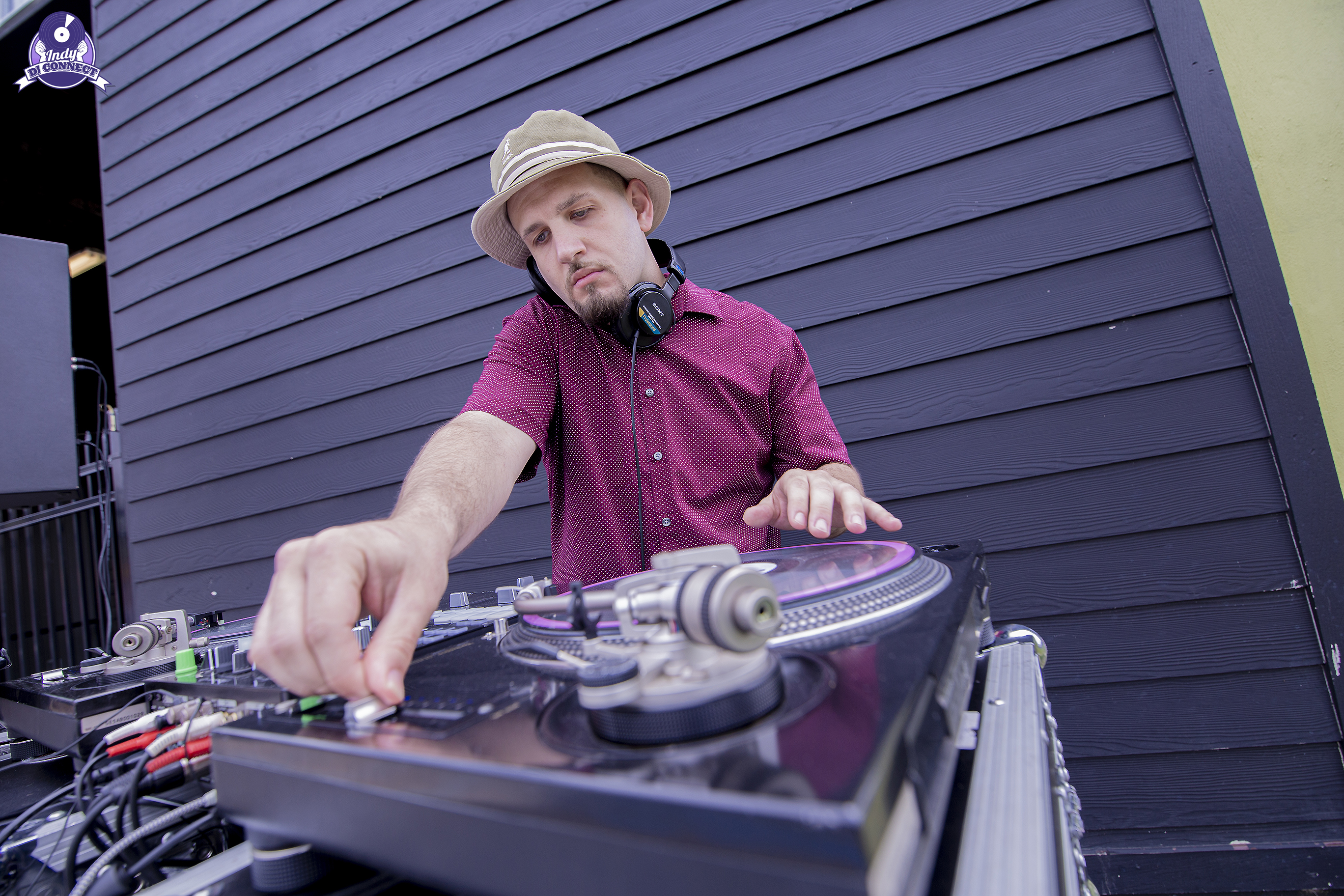 Corporate DJ for Indy Downtown Doggie's 10th Business Anniversary